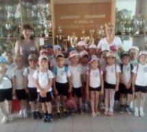 Спортивные соревнования среди детей старшего дошкольного возраста «Веселые старты»