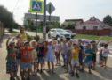 Организация и проведение занятий и пешеходных экскурсий с детьми на улично-дорожной сети вблизи детского сада.