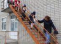 В детском саду прошла учебная тренировочная эвакуация