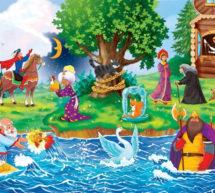 Дистанционная выставка детского творчества «Оживи сказки Пушкина»