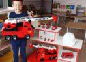 Пожарные машины — такие разные и такие важные!..